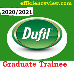 Dufil Prima Food (Indomie Instant Noodles) Graduate Trainee Programme 2020/2021