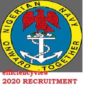 Nigerian Navy Recruitment 2020/2021 Application Form Portal Opened for Graduates/Non Graduates