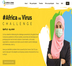 AfDB Jobs Recruitment for Youths in Africa Initiatives #AfricaVsVirus Challenge 2020