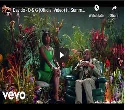 Watch Davido new released Dolce & Gabanna' song features Summer Walker