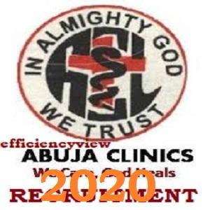 Abuja Clinical Job Recruitment Application Form 2020