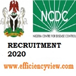 NCDC Recruitment 2020 for Surveillance Support Officers in 19 States
