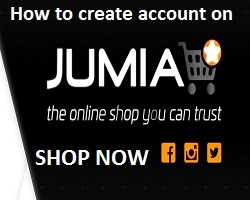 how to create Jumia account/Login/Sign in successfully to shop online