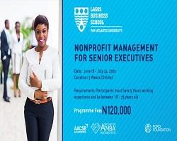 Lagos Business School 2020 Online Training Opportunity for Scholarship Program