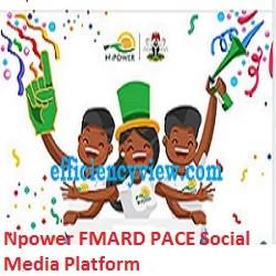 Npower FMARD PACE Social Media Platform online