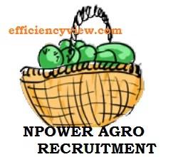 Npower Agro Recruitment 2020
