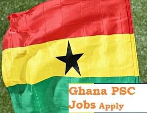 Ghana PSC Recruitment Form Link Portal 2020/2021