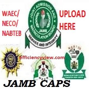 JAMB CAPS Link Portal 2020/2021