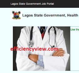2020 Lagos State Health Service Commission Recruitment