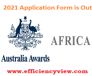 Australia Master's Scholarship/Short Course Awards 2021 Application Link Portal for African Nations