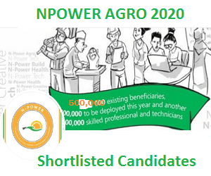 Npower Agro Batch C List of Shortlisted Candidates 2020-2021