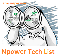 Npower Tech List of Shortlisted Candidates 2020/2021