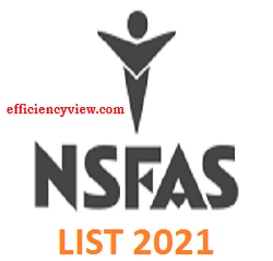 National Student Financial Aid Scheme Scholarships –NSFAS - List of Successful Shortlisted Beneficiaries 2021 in South Africa