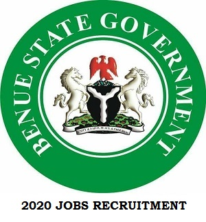 Benue State Government Jobs Recruitment Application Form 2020 apply here