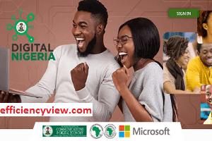 Digital Nigeria Skills Development Recruitment Programme Application Form 2020/2021 apply here