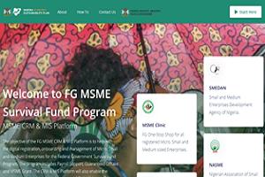 MSME CRM Grant & MIS Platform for Survival Fund
