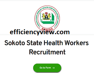 Sokoto State Health Workers Recruitment 2020/2021 apply here