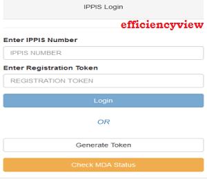 How to register/Login for IPPIS Verification through Link Portal - www.verification.ippis.gov.ng