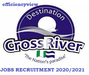 Cross Rivers State Government Graduate Jobs Recruitment 2020/2021 apply here