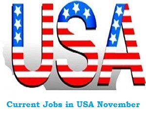 USA Latest Jobs Recruitment in November 2020 apply here