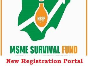 MSME Grant Survival Fund New Registration Form website Portal 2020/2023 check here