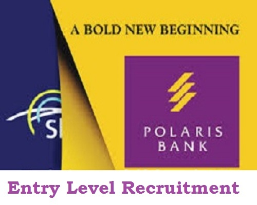 Polaris Bank Limited Entry Level Recruitment 2021 across Nigeria – Apply Here