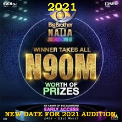 BBNaija New Date for 2021 Season 6 Audition – AfricaMagic.tv/bbaudtion