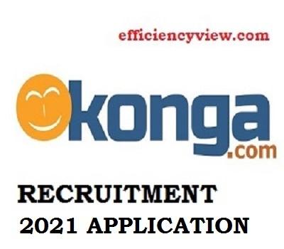 Konga Nigeria Jobs Recruitment Application Form May/June 2021 – Apply Here