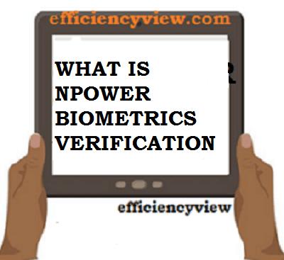 Understanding Npower Nasims Portal Biometrics Verification 2021/2022