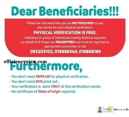 How to verify your account details on NASIMS Dashboard for Npower Beneficiaries to get paid