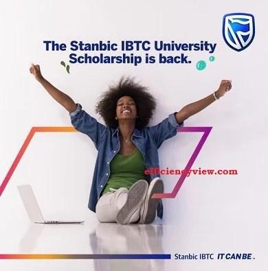 Stanbic IBTC University Scholarship 2021/2022 for Nigerian Undergraduates