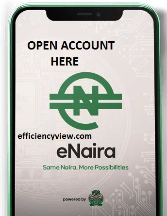 How to open eNaira Digital Currency Account by Central Bank of Nigeria