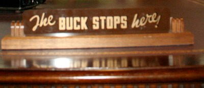 the buck stops here crop