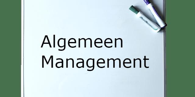 Opleidingen Algemeen Management