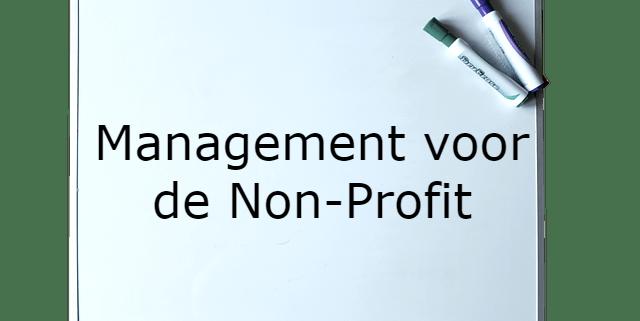Bestuurskunde, Management voor de Non-Profit