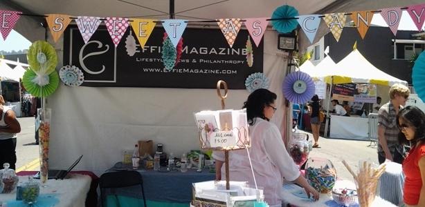 Effie Magazine at the 19th Annual Los Feliz Village Street Fair; Contributing Medical Advisor, Crystal Cantu