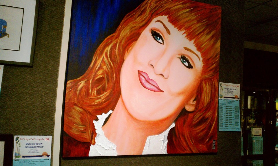 Griffin Pride by Gregory Armstrong; Portrait of Kathy Griffin