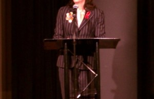 Jane Kaczmarek at 2012 World AIDS Day Symposium