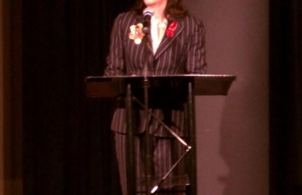 Jane Kaczmarek at 2012 World AIDS Day Symposium