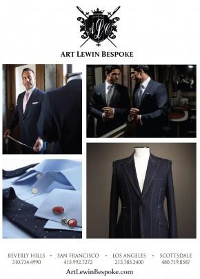 Art Lewin Bespoke Clothiers, EffieMagazine.com