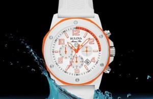 Bulova White Marine Star Watch