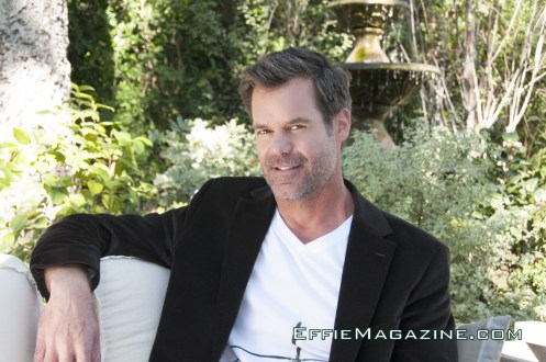 EffieMagazine.com Photo of Tuc Watkins lounging in Chicks & Blokes and Hugo Boss