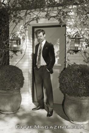 EffieMagazine.com Photo of Tuc Watkins Old Hollywood Charm