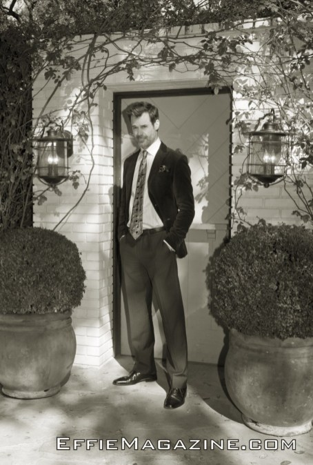 EffieMagazine.com Photo of Tuc Watkins Old Hollywood Charm