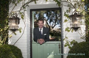 EffieMagazine.com Photo of Tuc Watkins Welcome Home Darling in Hugo Boss