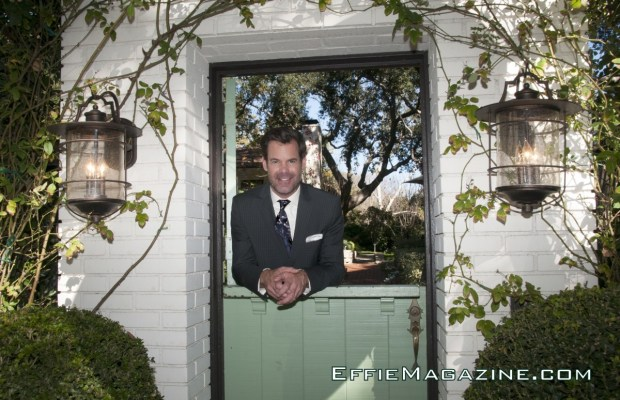 EffieMagazine.com Photo of Tuc Watkins Welcome Home Darling in Hugo Boss