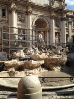 Trevi Fountain Now, Ugh!