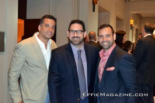 L to R: Nick Haussling, Armen Sarkissian with Nick Cacarnakis