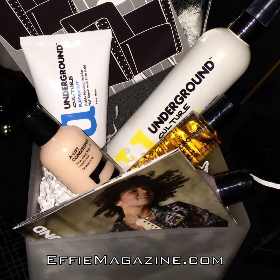 EffieMagazine.com, Underground Culture Haircare,