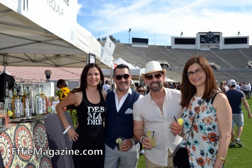 Effie Magazine, Pasadena, Union Station Homeless Services, Masters Of Taste, Rose Bowl, Desmadre Tequila